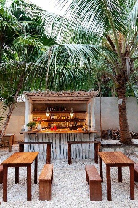 Your very own beach bar