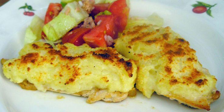 Pechugas de pollo al horno the image for Pechugas de pollo al horno con patatas
