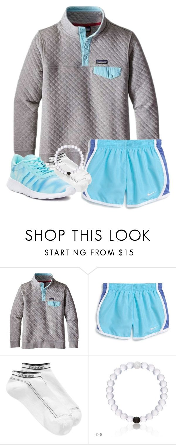 """GO FOLLOW @southern-preppster"" by pinkrasberry ❤ liked on Polyvore featuring Patagonia, NIKE, Calvin Klein and adidas"