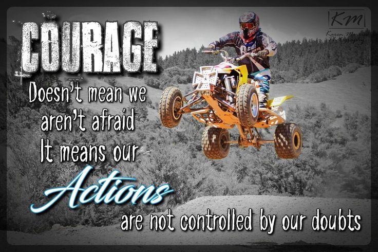 Vaughan - Motocross Quote