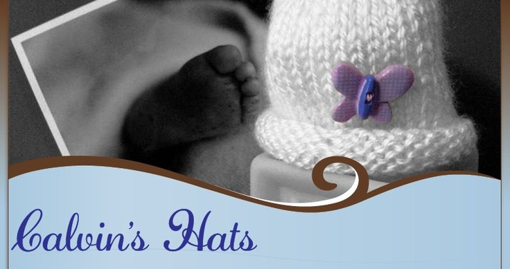 Free Pattern for knitting tiny charity hats for premature babies. Wee babie...
