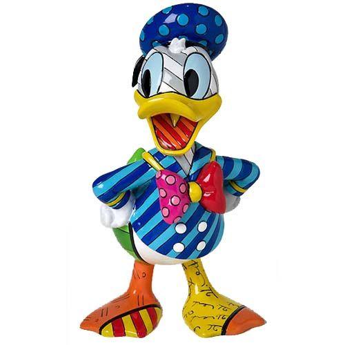 Romero Britto - Disney By Britto - Donald Duck Figurine - 4023844 - £35.00