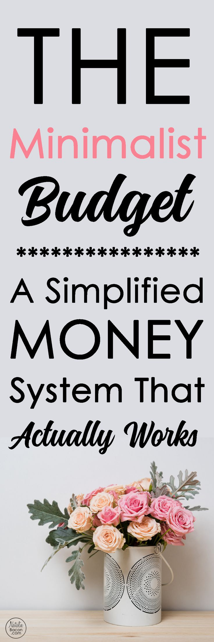 The Minimalist Budget: A Simplified Money System That Actually Works via @natalierbacon