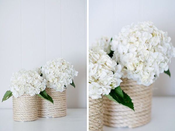 diy Vase aus Seilkordel: Diy Ideas, Diy'S, Wedding Ideas, Decorating Ideas, Ropes, Craft Ideas, Diy Projects, Flower