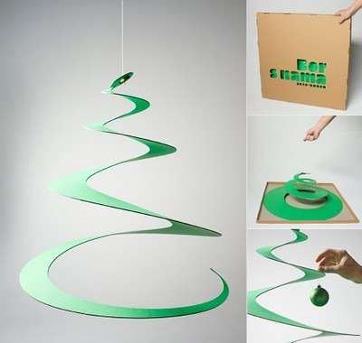 Paper Tree #Christmas #Decor #Holidays