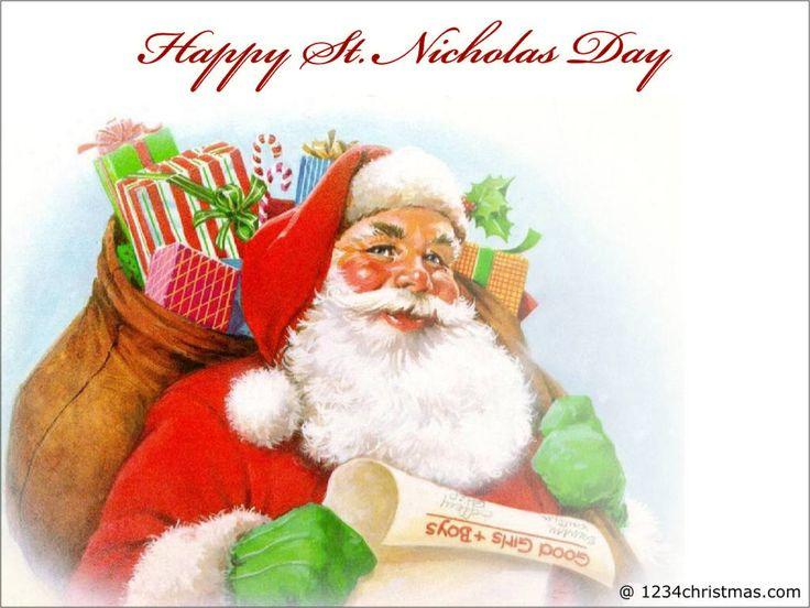 Saint Nicholas Day Greeting Card