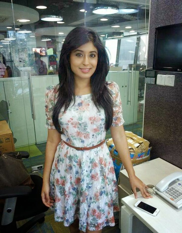 Kritika Kamra flowers dress