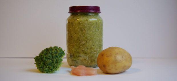 Babybrei - Brokkoli-Kartoffelbrei mit Pute
