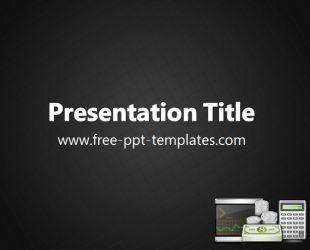 Accounting PowerPoint Template is a black template with appropriate background image which you can use to make an elegant and professional PPT presentation. This FREE PowerPoint template is perfect for presentations that are related to finance, accounting, money and business generally.