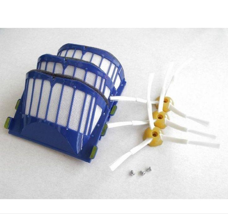 $8.00 (Buy here: https://alitems.com/g/1e8d114494ebda23ff8b16525dc3e8/?i=5&ulp=https%3A%2F%2Fwww.aliexpress.com%2Fitem%2FAeroVac-dust-Filter-side-brush-screw-kit-for-iRobot-Roomba-600-Series-595-620-630-650%2F32705027235.html ) AeroVac dust Filter + side brush + screw kit for iRobot Roomba 600 Series 595 620 630 650 660 replacement for just $8.00