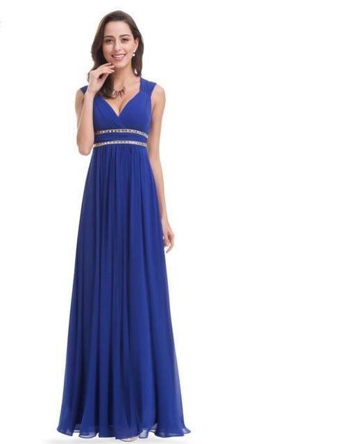 3fa4edc0952c3 Formal Evening Dresses Long EP08697 Ever Pretty Women Elegant Navy ...