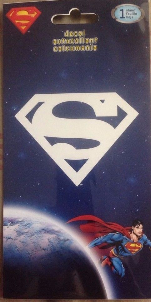 SandyLion Superman Sticker Auto Window DC795FB