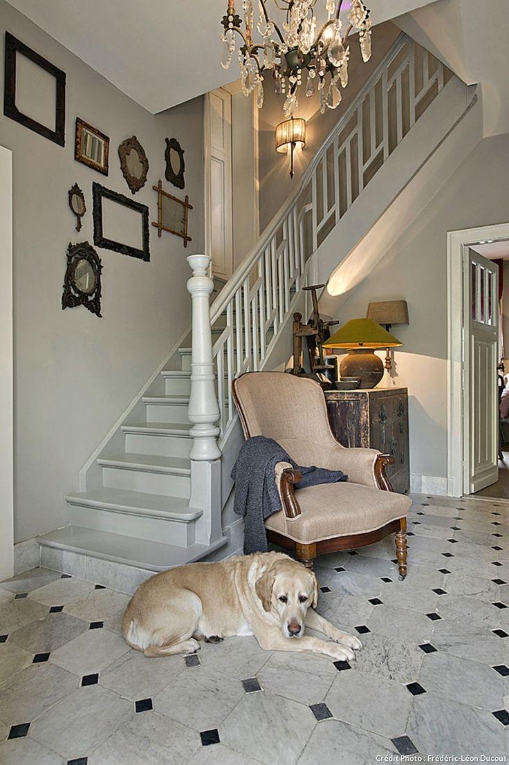 17 meilleures id es propos de escalier stratifi sur pinterest escalier r - Entree de maison avec escalier ...