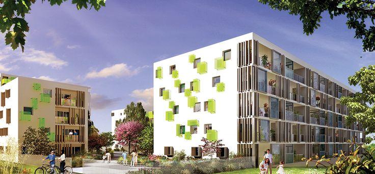 Programme immobilier neuf Les opalines à Rennes un programme éligible #loiduflot