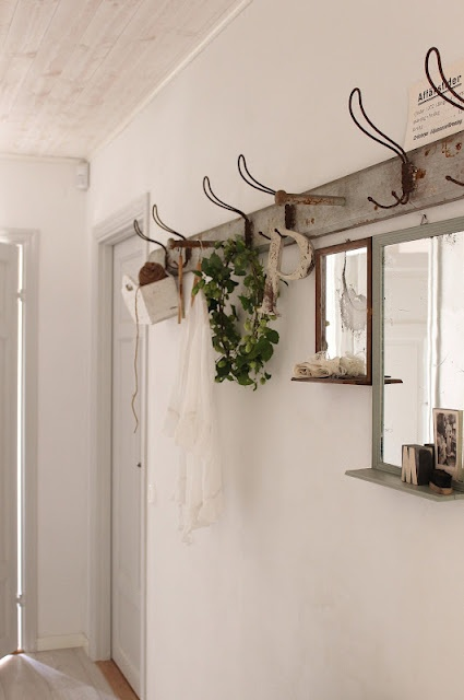 ♕ love this coat rack