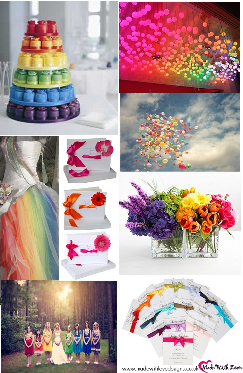 rainbow wedding decorations 17 best images about rainbow ideas on 6953
