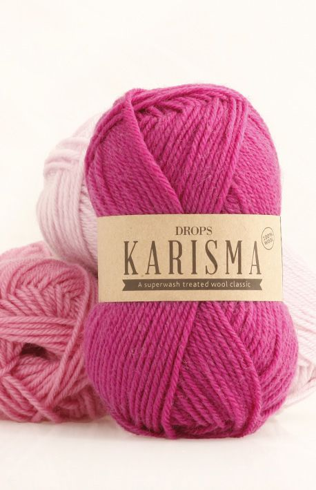 DROPS Karisma colour chart ~ DROPS Karisma is a 4 strands sport yarn, and one of the most popular wool qualities in our classic wool range. It's been on the Scandinavian market since the 80's and is supported by an extensive array of patterns.