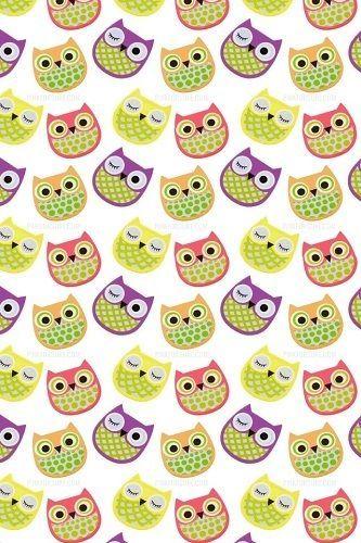 Colorida-Corujas-Quarto-De-Criancas-Parede-Arte-animais-Cute-bold-realce-Nova-Placa-De-Interruptor