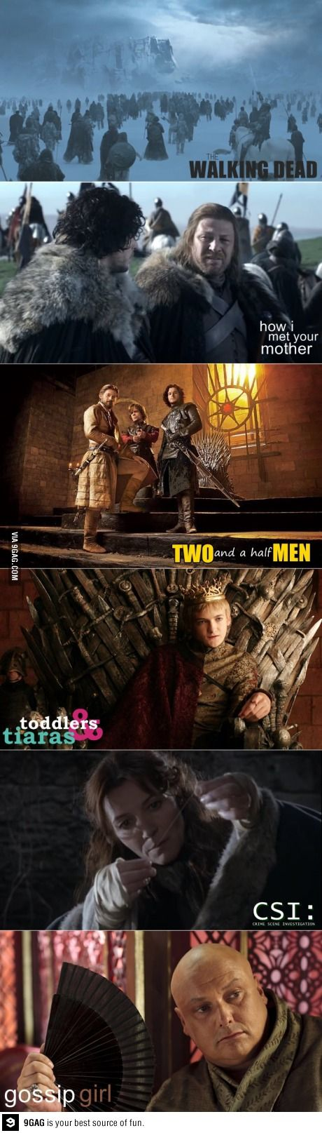 ok, this made me laugh. Perfect! Game of Thrones. I loved Toddlers and Tiaras because I HATE Joffrey!!!