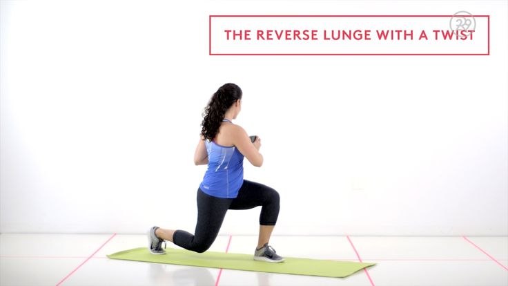 How to: Reverse Lunge with Twist