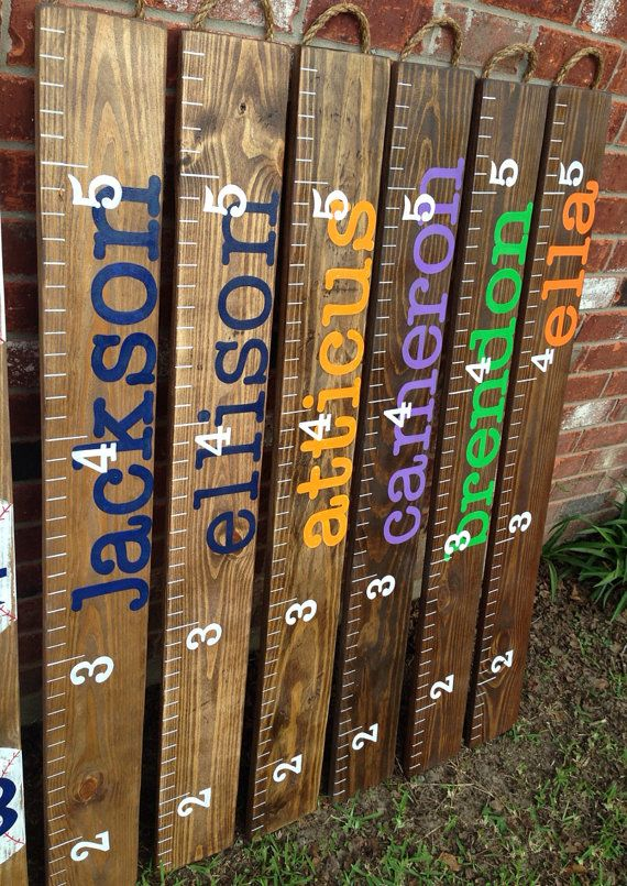 Hey, I found this really awesome Etsy listing at http://www.etsy.com/listing/165606238/ruler-growth-chart