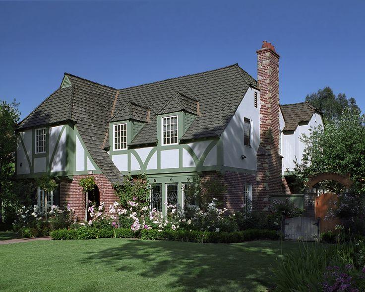 Tudor revival remodel