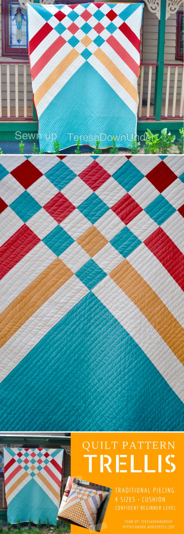 Modern Quilt Patterns For Beginners : 4199 best images about quilts on Pinterest Square quilt, Fat quarters and Quilt