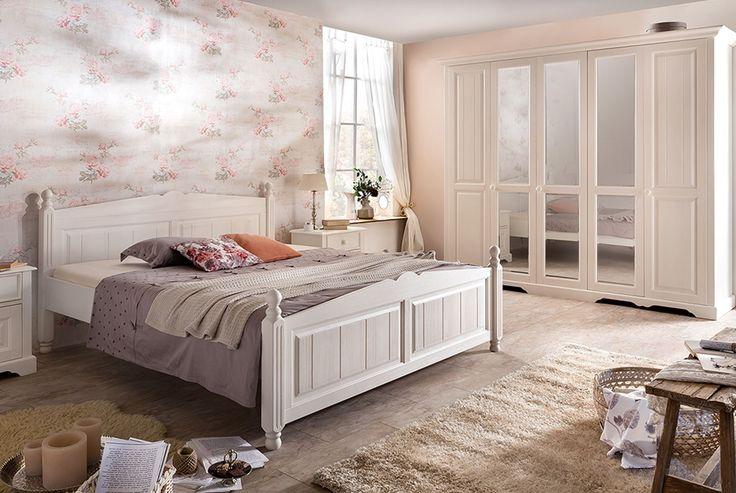 best 25 schlafzimmer landhausstil ideas on pinterest bett landhausstil vorh nge landhausstil. Black Bedroom Furniture Sets. Home Design Ideas