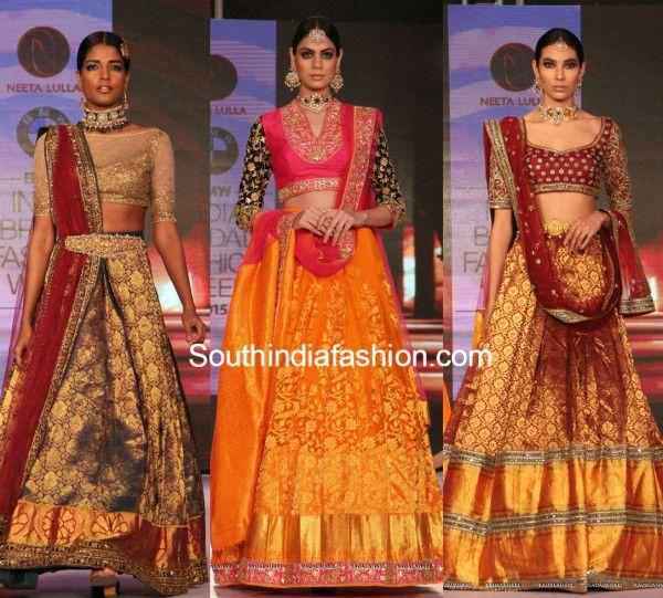 BMW India Bridal Fashion Week: Neeta Lulla's Stunning Kanjeevaram Collection