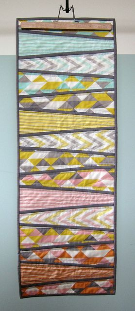 Quilt market sample: simpatico table runner by Michelle Engel Bencsko | Cloud9 Fabrics, via Flickr