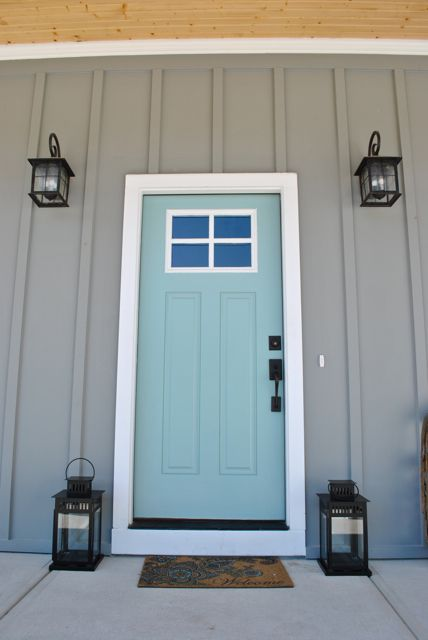 Grey & Robins Egg Blue, Sherwin Williams Watery
