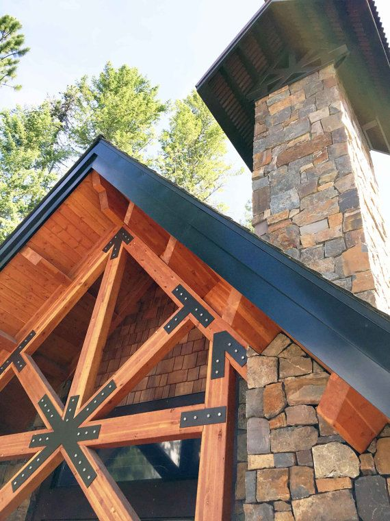 17 best ideas about steel trusses on pinterest polished for Custom roof trusses