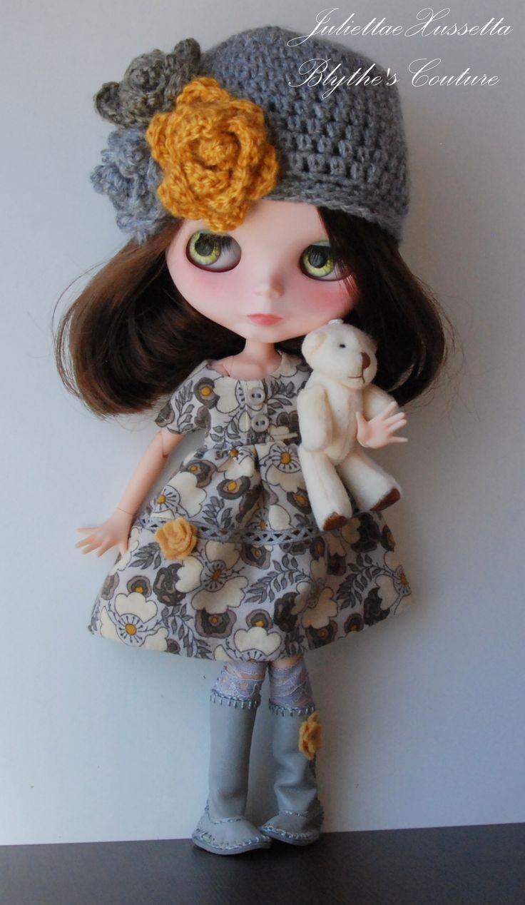 Blythe with tiny friend¡¡ by JuliettaeXussetta