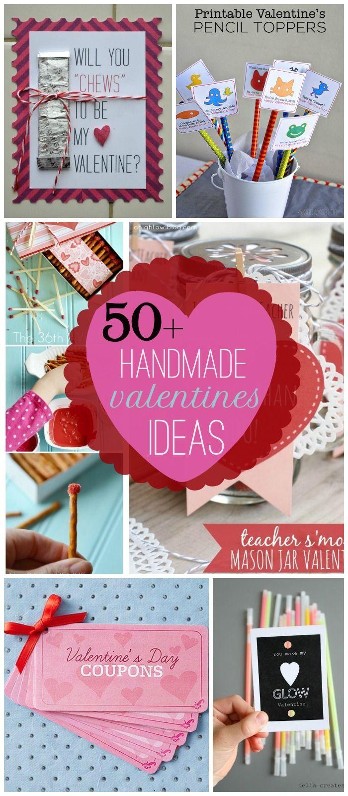 50 + handmade valentine's ideas (lil' luna) | valentines day