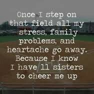 Cute softball quote