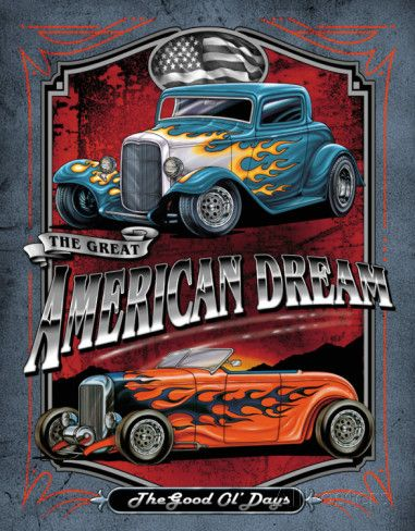 Legends - American Dream Placa de lata