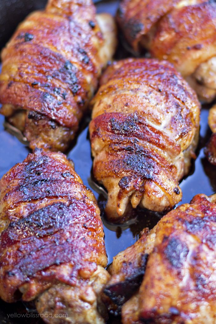 Bacon Wrapped Ginger Soy Chicken Recipe Bacon Soy