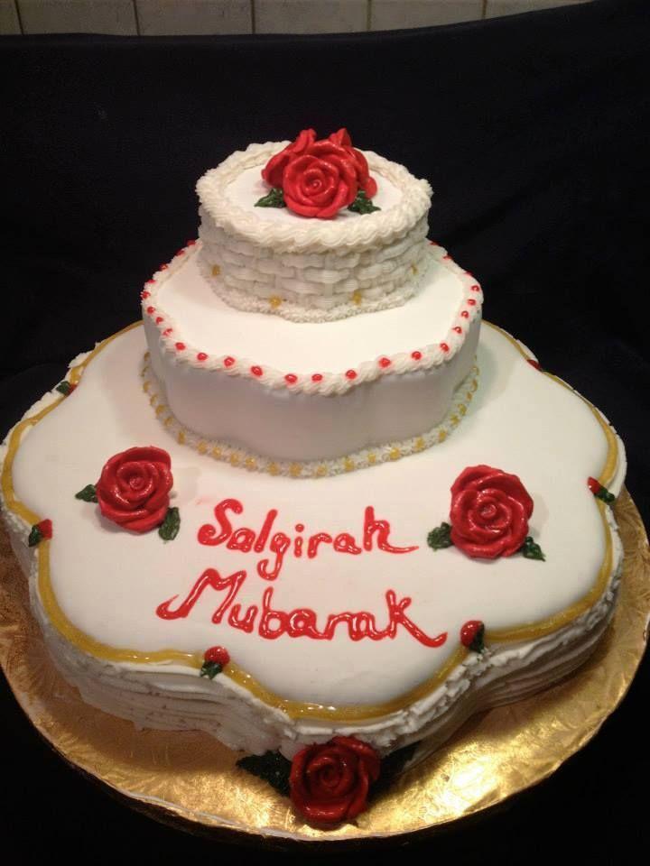 Salgirah Khushali Mubarak Cake