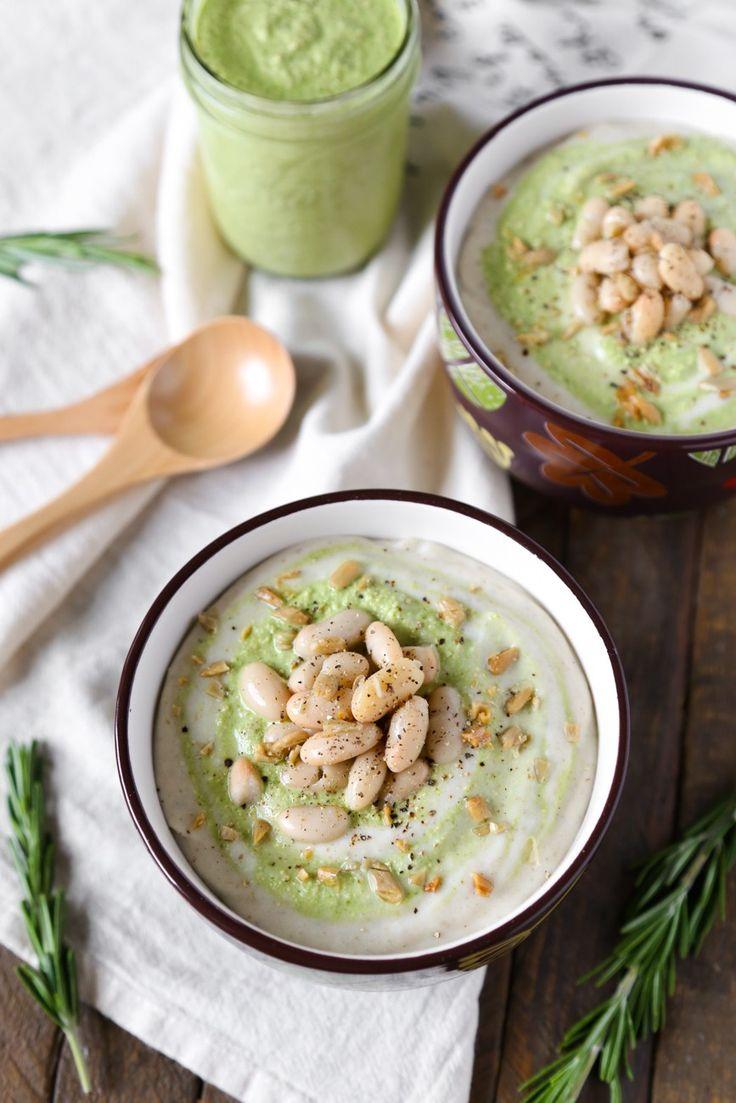 Rosemary White Bean & Potato Soup   Gluten-free, Vegan Oil-free   The Plant Philosophy