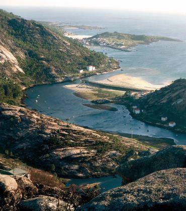 Mirador de Ézaro. A Coruña. Galicia. Spain.