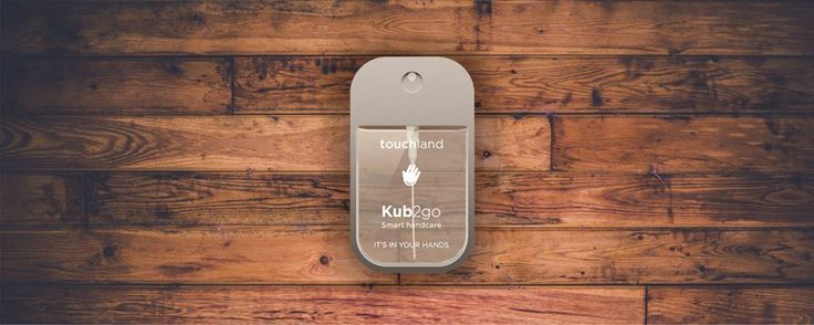 Meet the KUB2go: your Smart HandCare on the go! Waterless Hygiene + Hydration on the go. http://www.touchland.com/  #handsanitizer #touchland #kub2go #sanitizer #smartcare