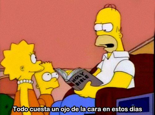 """simpsons-latino: """" mas Simpsons aqui """""""