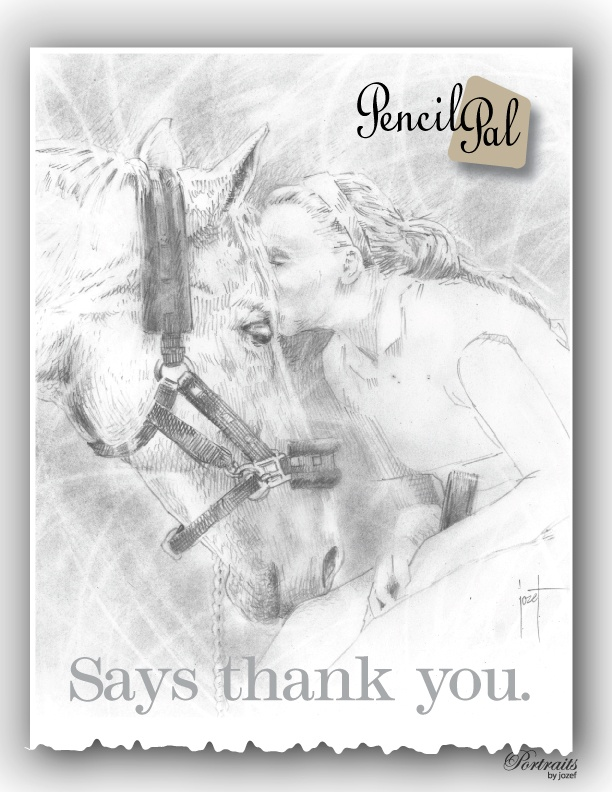 """Your PencilPal can say """"Thank You"""""""