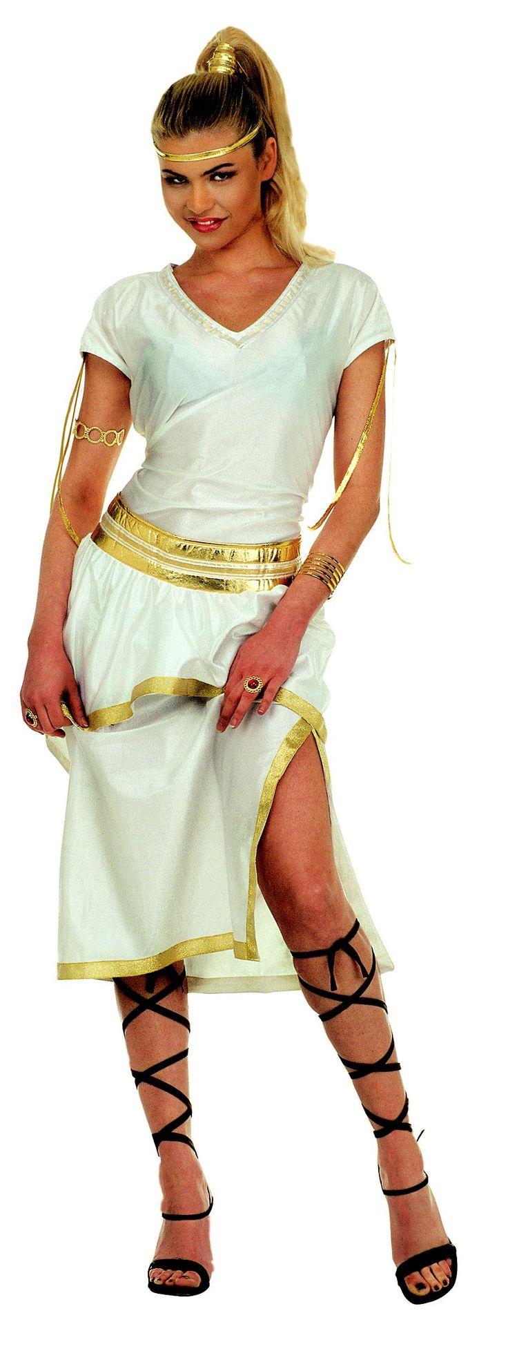Griekse godin pak voor dames : Volwassenen Kostuums, en goedkope carnavalskleding - Vegaoo