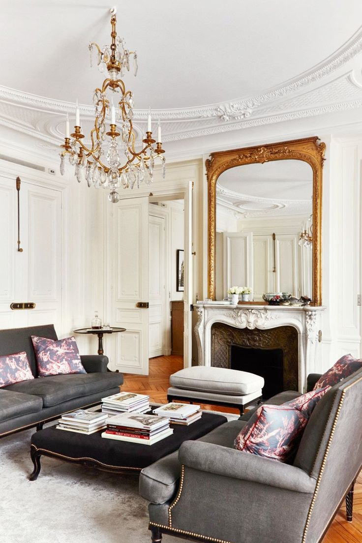 Interior design for home decor - 5 Steps To The Perfect Parisian Home The Chriselle Factor