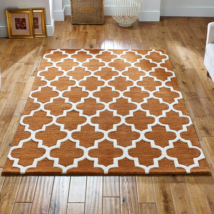 Arabesque Rug In Rust Online From The Er Uk