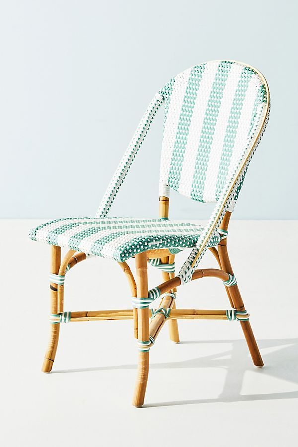 Woven Stripes Bistro Chair Bistro Chairs Chair Dining Stools