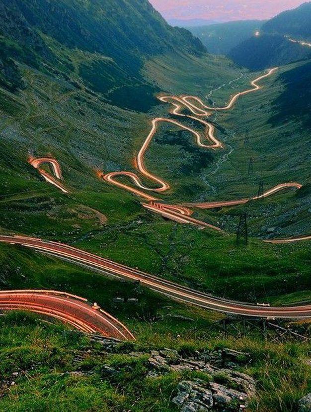 Route Transfagaran Roumanie