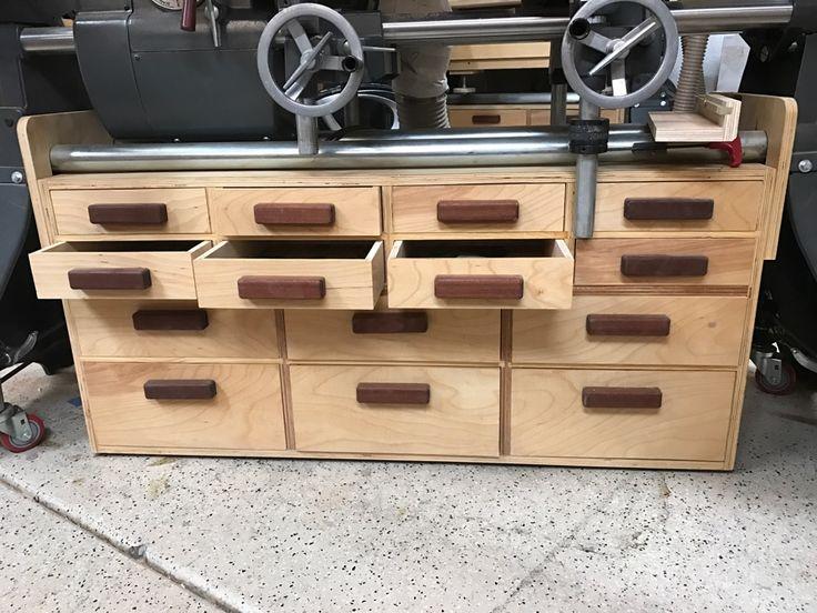 Under Shopsmith Storage Cabinet