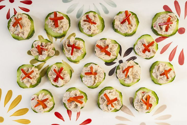 Savory Spice Shop Recipe - Mediterranean Spiced Cucumber Medallions